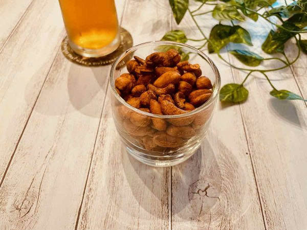 20 spiced mixed nuts