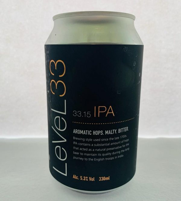 Craft beers in a can