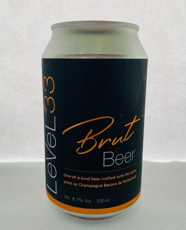 Brewed with Champagne yeast